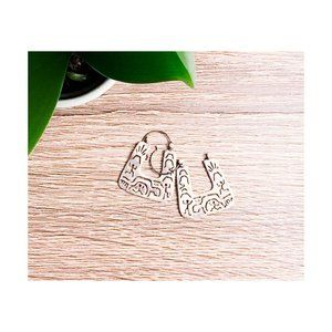 Keith Haring Sterling Silver Earrings